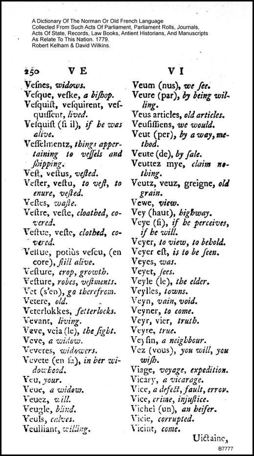 kimkat0422k Dictionary Of The Norman Or Old French Language
